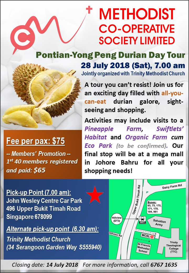 Durian Trip 28 July 2018